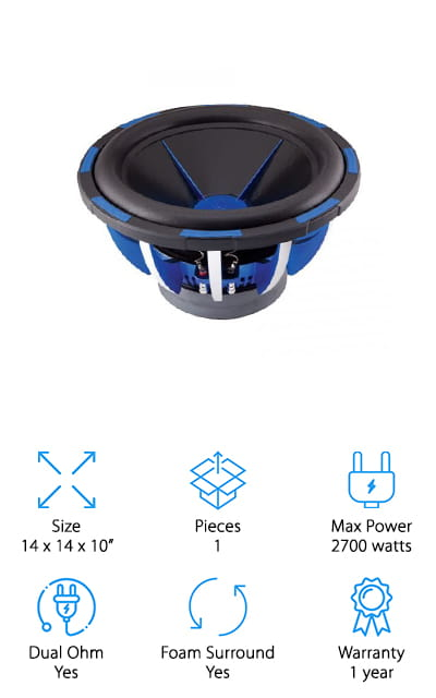Power Acoustik MOFO Subwoofer