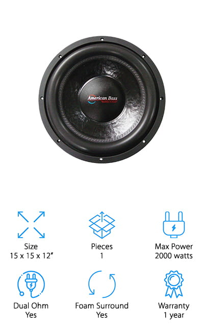 American Bass Competition Subwoofer