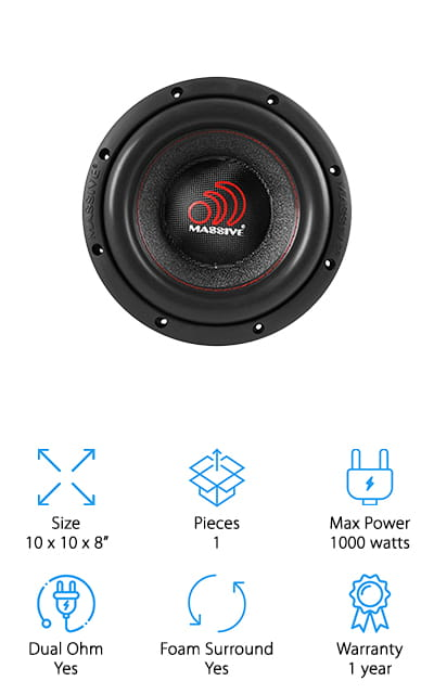 Massive Competition Subwoofer