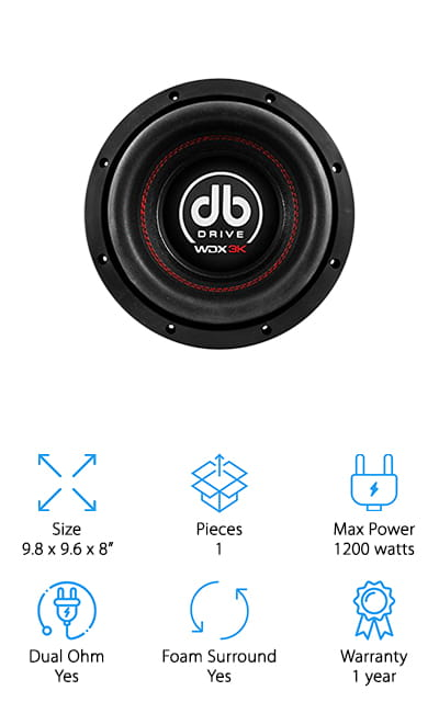 DB Drive Competition Subwoofer