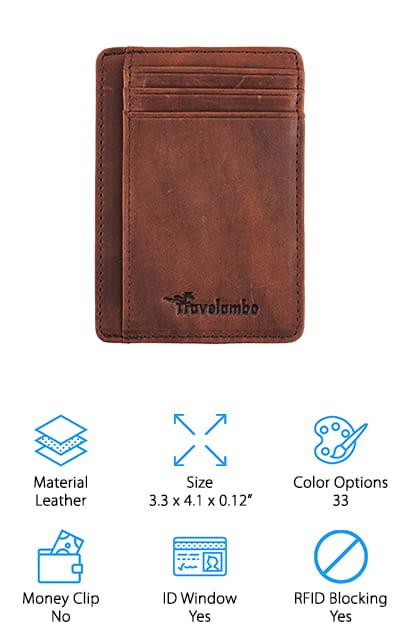Travelambo Front Pocket Wallet
