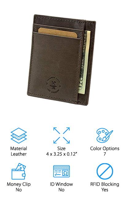 Hammer Anvil Front Pocket Wallet