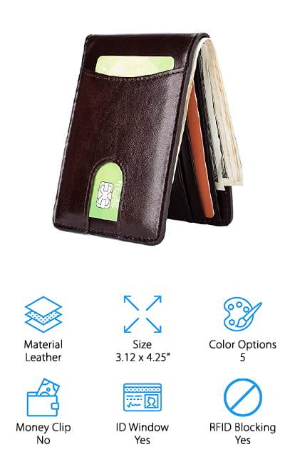GintaXen Front Pocket Wallet