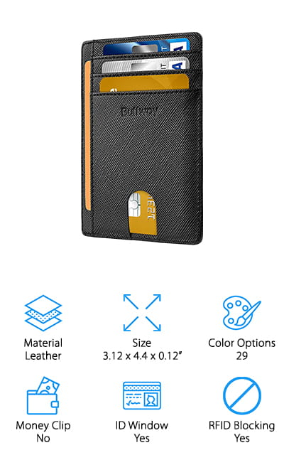 Buffway Front Pocket Wallet