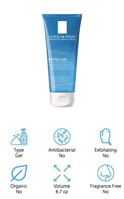 La Roche-Posay Effaclar Cleanser