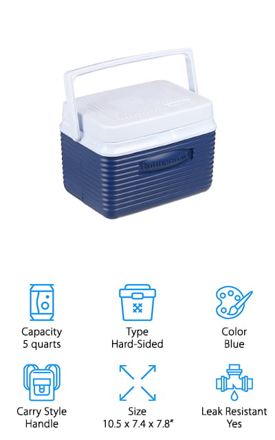 Rubbermaid Small Cooler