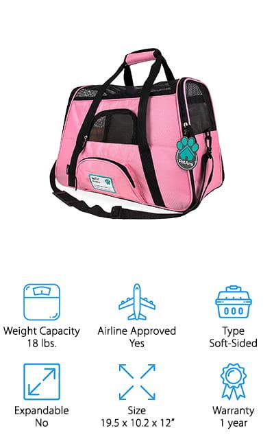 PetAmi Pet Travel Carrier