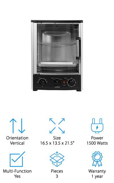 Nutrichef Rotisserie Oven