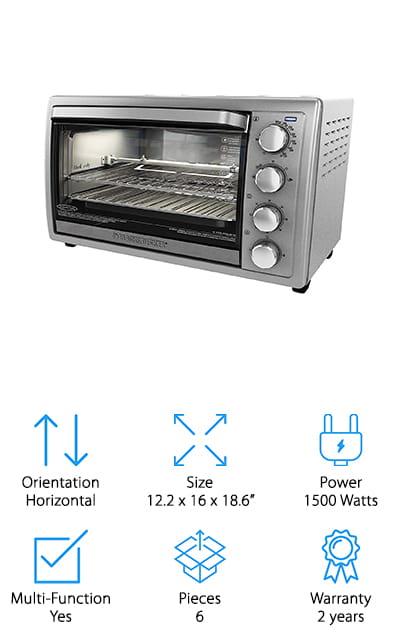 BLACK+DECKER Rotisserie Oven