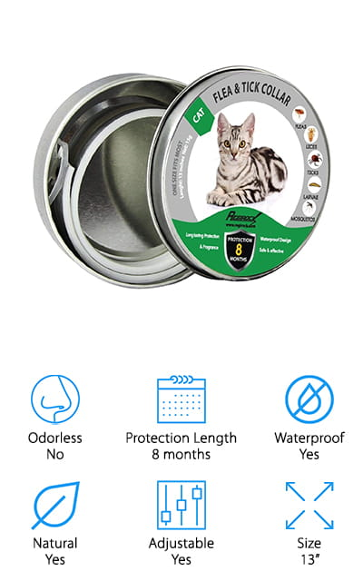REGIROCK Flea Collar for Cats