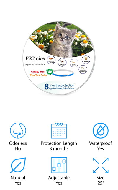 PETinice Flea Collar