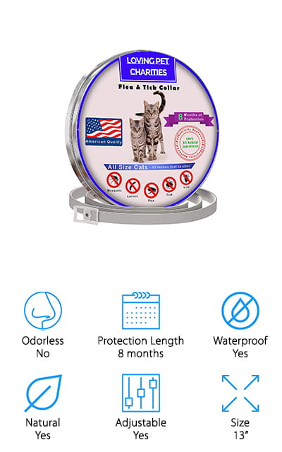 Loving Pet Charities Flea Collar