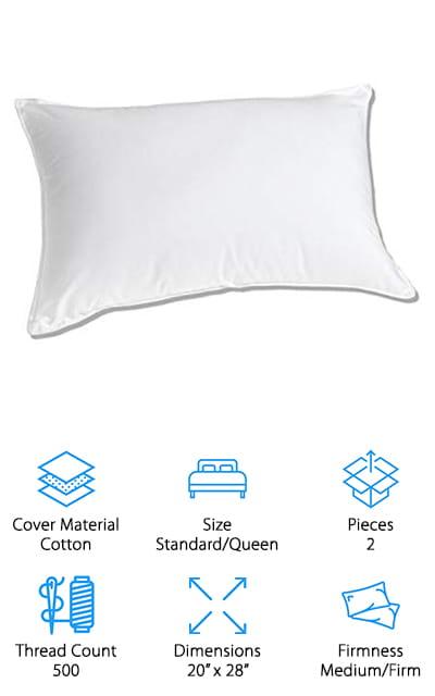 Royal Hotel Down Pillow