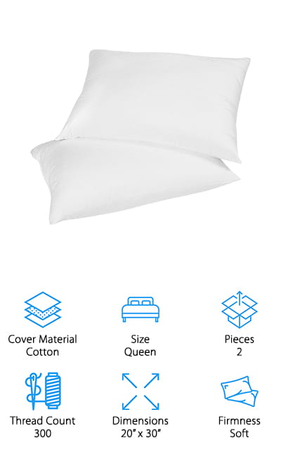 10 Best Down Pillows 2020 Buying Guide Geekwrapped