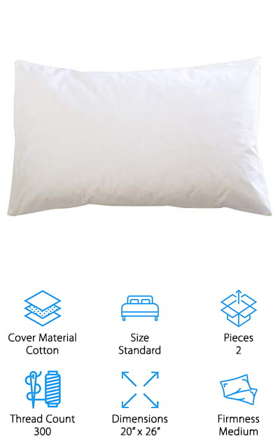 East Coast Bedding Down Pillow