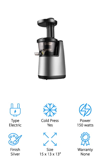 Flexzion Cold Press Juicer