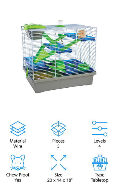 Rosewood Pet Pico Hamster Cage