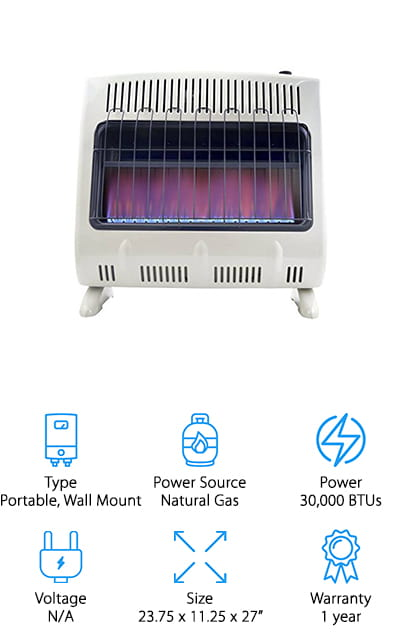 Mr. Heater Natural Gas Heater