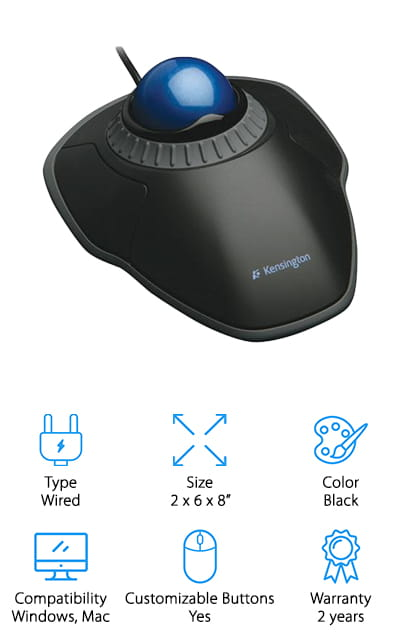 8bb762a1f52 10 Best Trackball Mouse 2019 [Buying Guide] – Geekwrapped