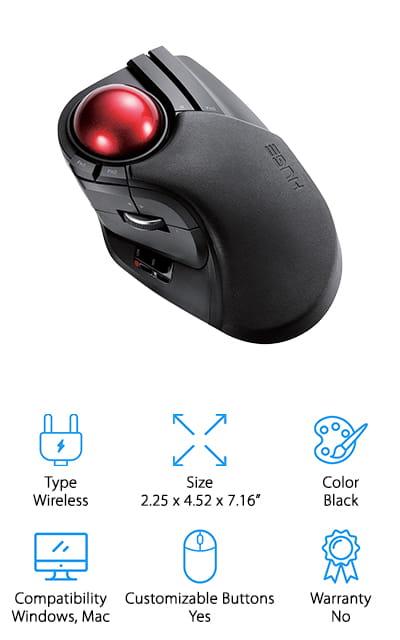 ELECOM Trackball Mouse