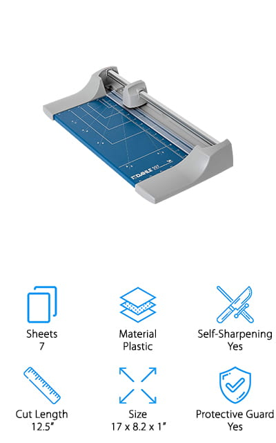 Dahle Rolling Paper Cutter