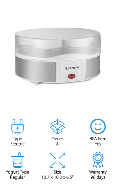 Flexzion Yogurt Maker