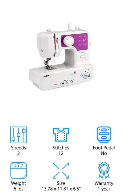 Oakome Mini Sewing Machine