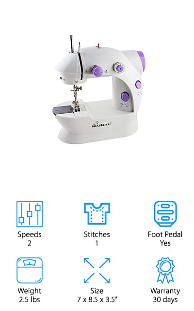 HITRAL Portable Sewing Machine