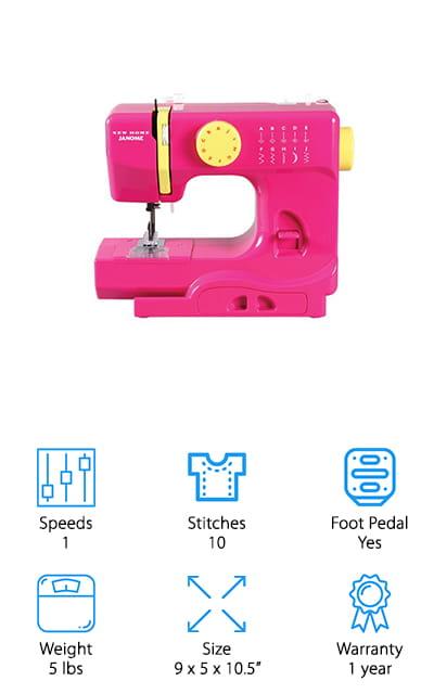 Janome Compact Sewing Machine
