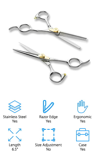ShearGuru Professional Hair Cutting Set