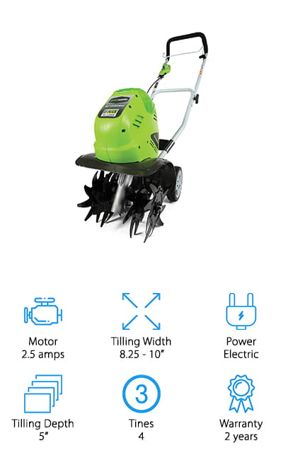 Greenworks Cordless Cultivator