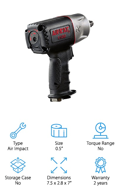 Aircat 1150 Torque Impact Wrench