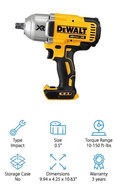DEWALT Torque Impact Wrench