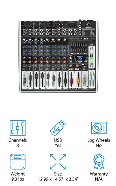 BEHRINGER X1222 Mixer