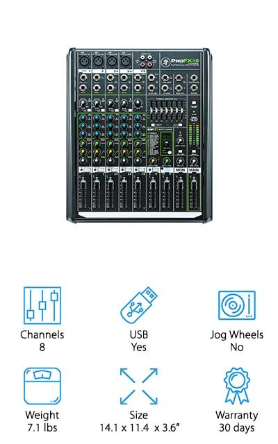 Mackie PROFX8V2 Compact Mixer