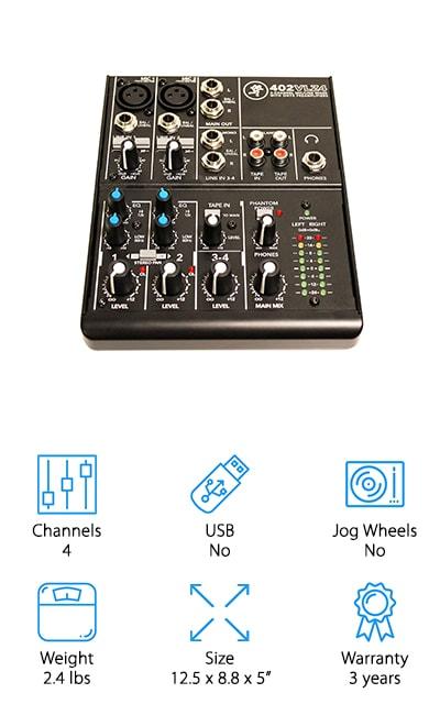 Mackie 402VLZ4 Mixer