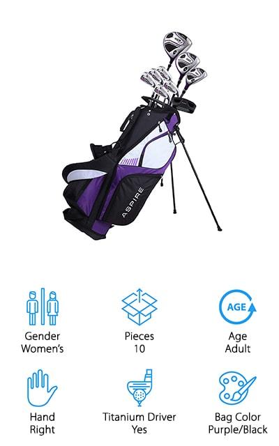Aspire XD1 Golf Clubs Set