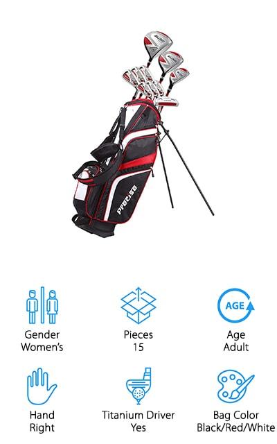 PreciseGolf Co. Golf Clubs Set