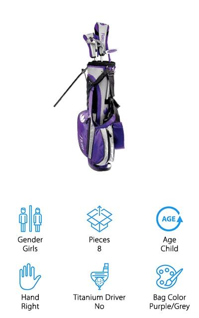 Intech Flora Junior Golf Set