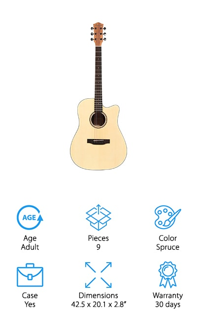 Donner Beginner Acoustic Guitar