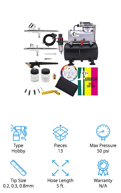 OPHIR Airbrush Kit