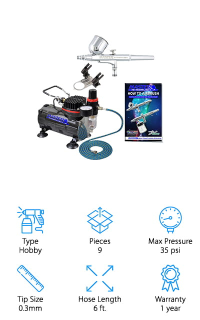 Master Airbrush Multi-Purpose Kit