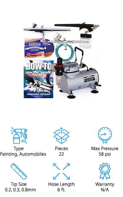 PointZero Airbrush Kit