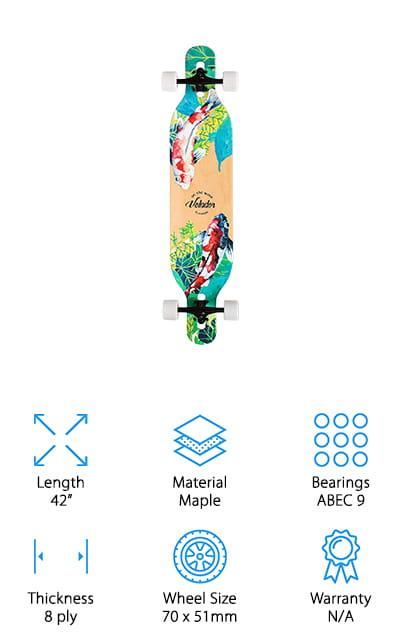 Volador Freeride Longboard