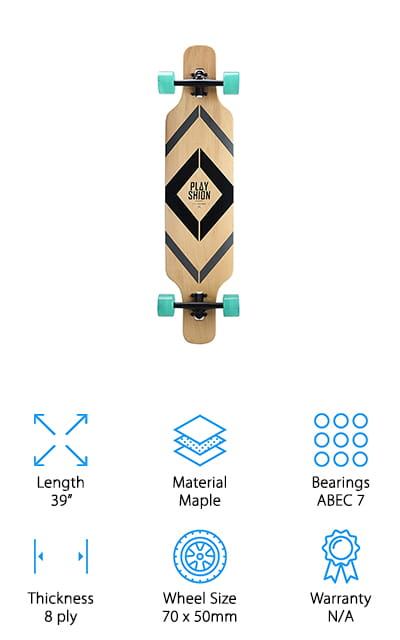 Playshion Freestyle Longboard