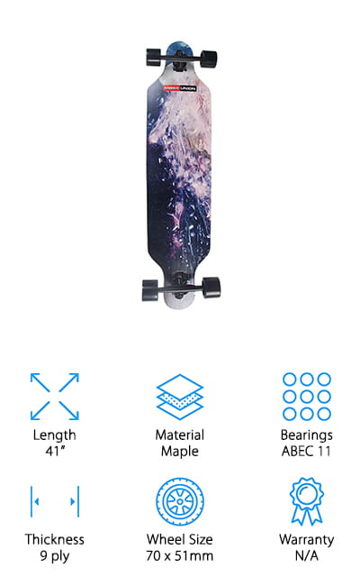 Magic Union Drop Down Longboard