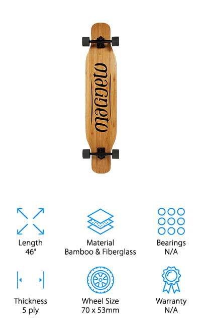 Magneto Freestyle Longboards