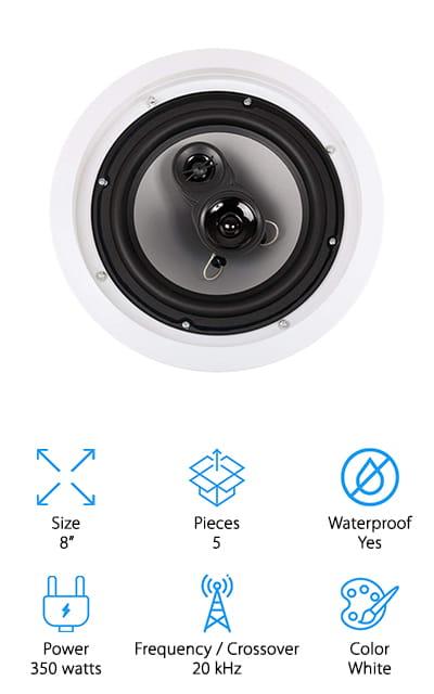Acoustic Audio Speaker Set