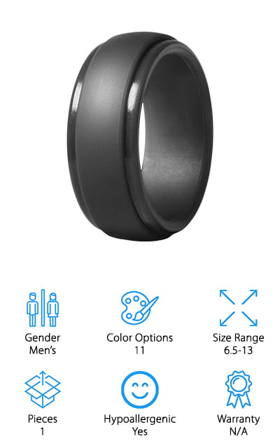 Saco Band Silicone Ring