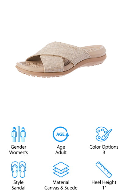 Crocs Cross-Band Sandal
